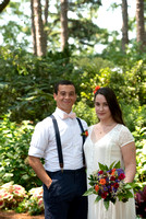 WRAL Gardens Wedding Mary and Andrew