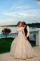 New Bern Country Club Wedding photography coupley