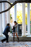 Surprise Proposal at UNC Chapel Hill Old Well